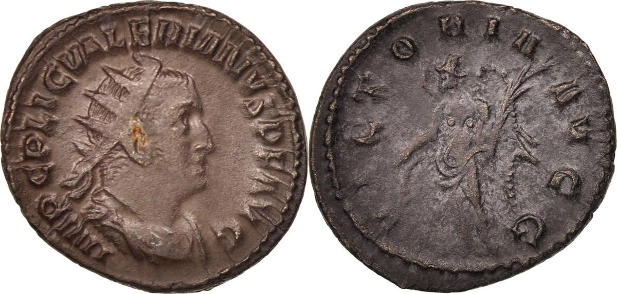 Antoninianus 258-259  Valerian I AU(50-53)