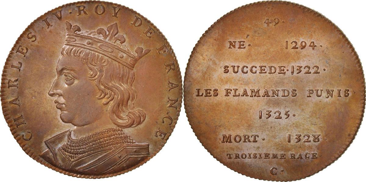 Medal XIXth Century Frankreich MS(65-70)