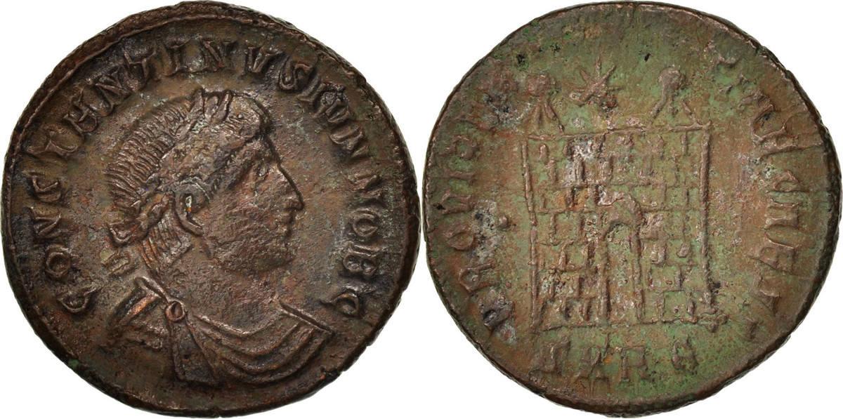 Nummus Heraclea Constantine II EF(40-45)