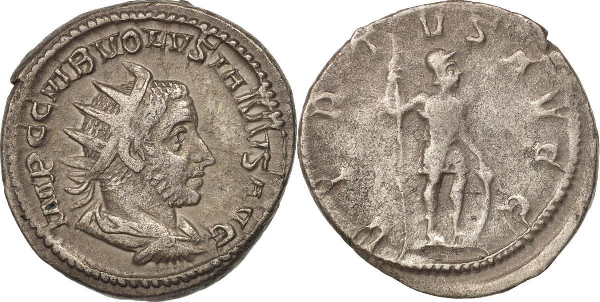 Antoninianus 251 Roma Volusian EF(40-45)
