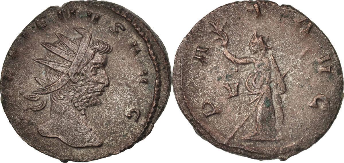 Antoninianus 264 Milan Gallienus AU(50-53)