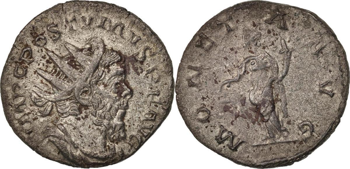 Antoninianus  Postumus, Billon, RIC:315 SS+