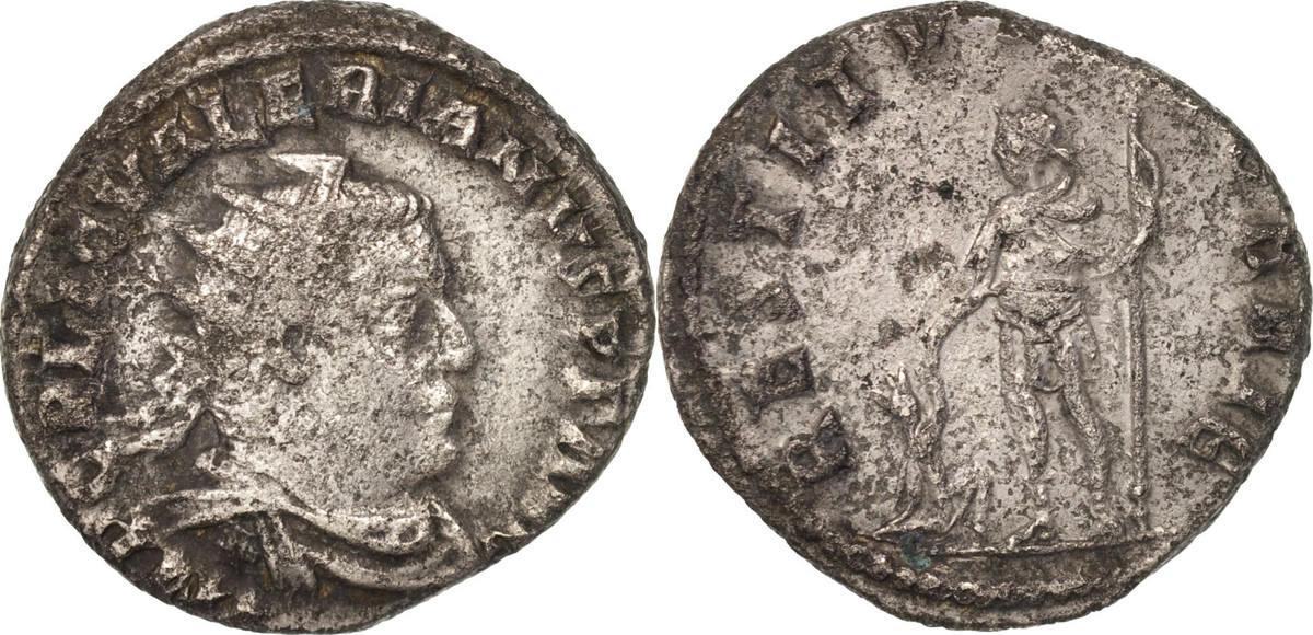 Antoninianus 255-257 Roma Valerian I, Roma, Billon, RIC:117 S+