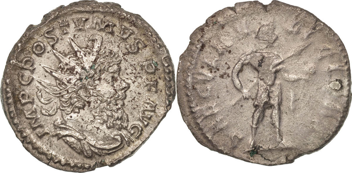 Antoninianus Cologne Postumus, Cologne, Billon, RIC:83 SS+