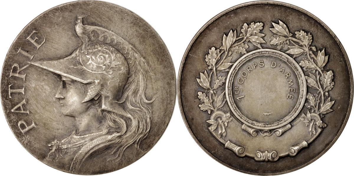 Medal Frankreich 1er Corps d'Armée, Politics, Society, War, VZ VZ