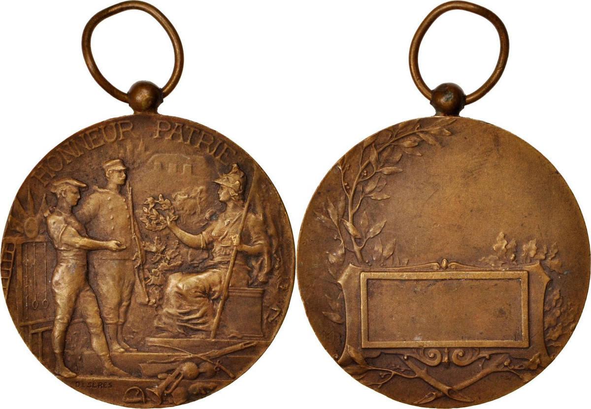 Medal Frankreich Honneur et Patrie, Politics, Society, War, VZ, Bronze, 36 VZ