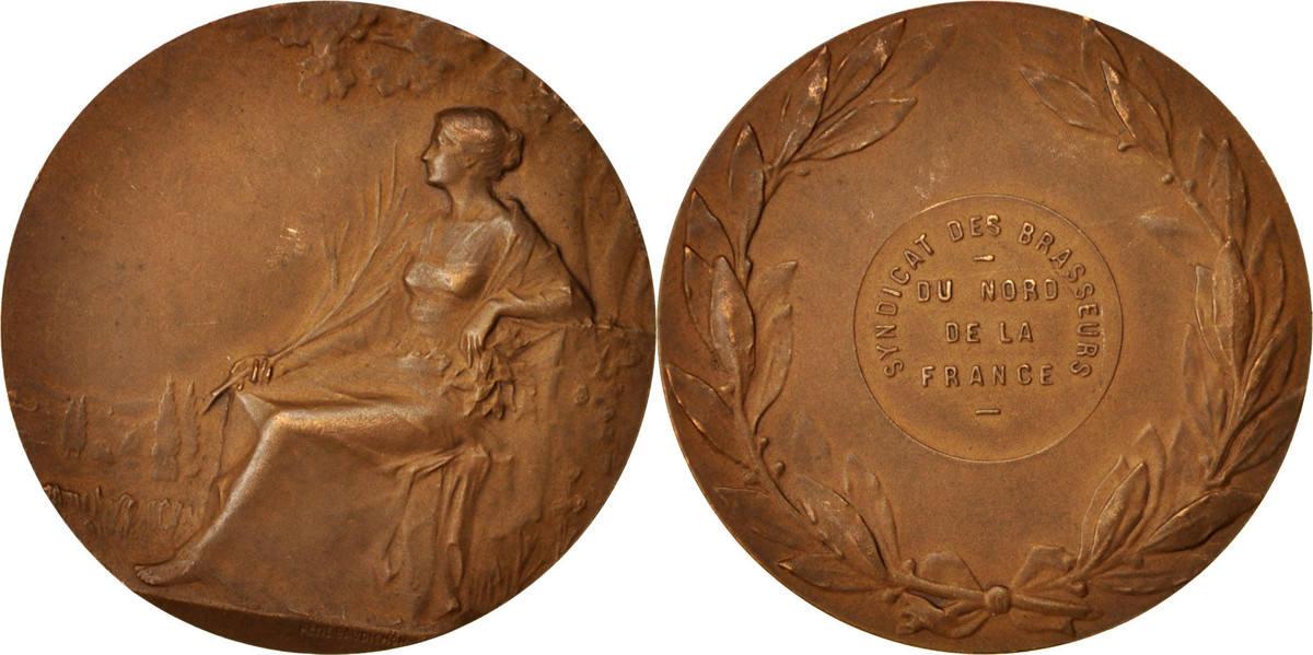 Medal Frankreich Syndicat des Brasseurs de la Région du Nord de la France SS+
