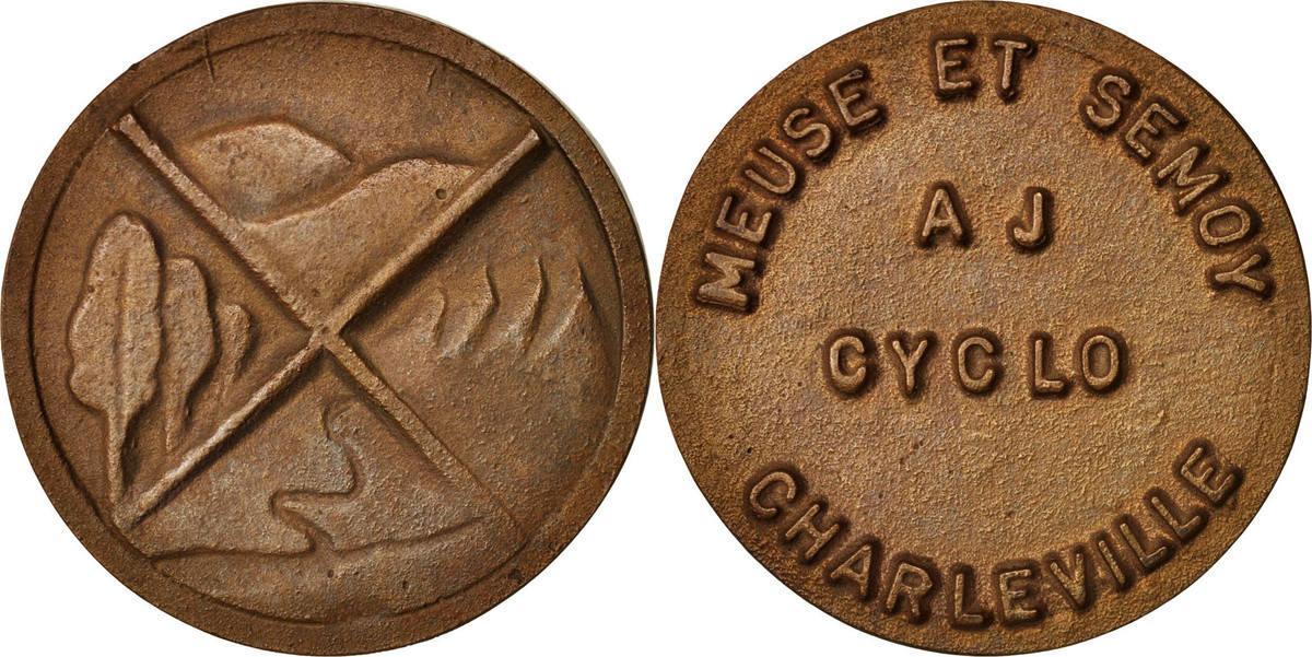 Medal Frankreich Meuse et Semoy AJ Cyclo, Charleville, Sports & leisure VZ