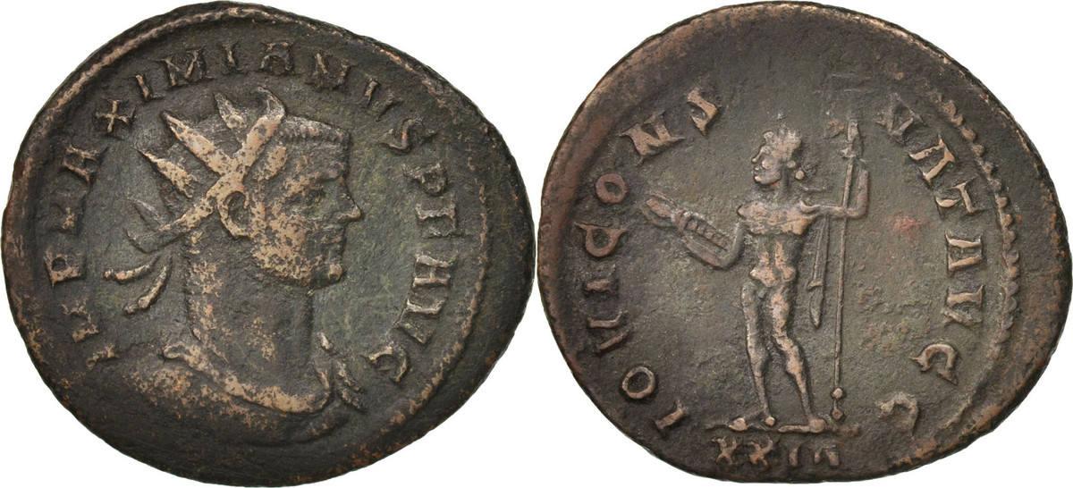 Antoninianus 285-286 Roma Maximianus, Roma, SS, Billon, RIC:506 SS