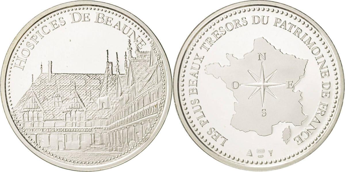Medal Frankreich Les plus beaux trésors du patrimoine de France, Beaune STGL