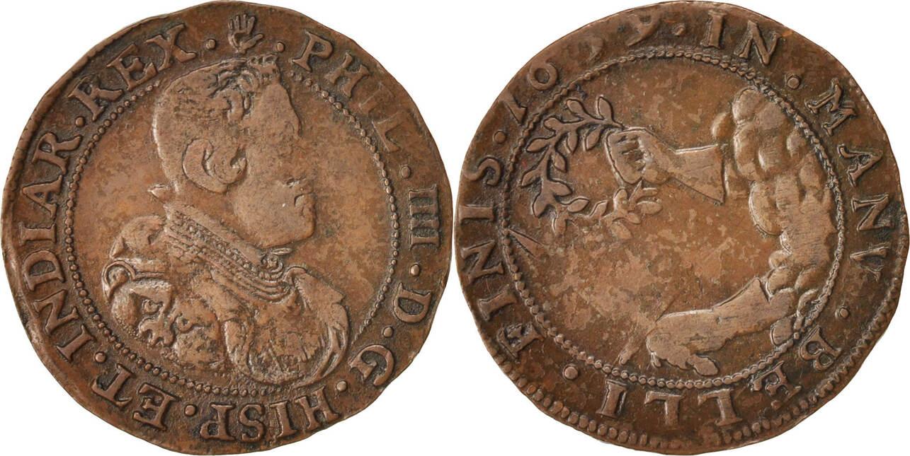 Token 1659 Spanische Niederlande Spanish Netherlands, Philippe IV, SS+ SS+