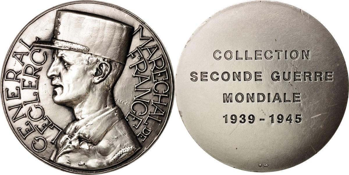 Medal Frankreich Collection Seconde Guerre Mondiale, Général Leclerc STGL