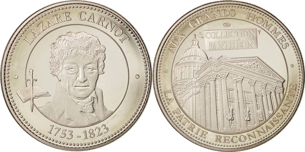 Medal Frankreich Collection Panthéon, Lazare Carnot, Arts & Culture, STGL,... STGL