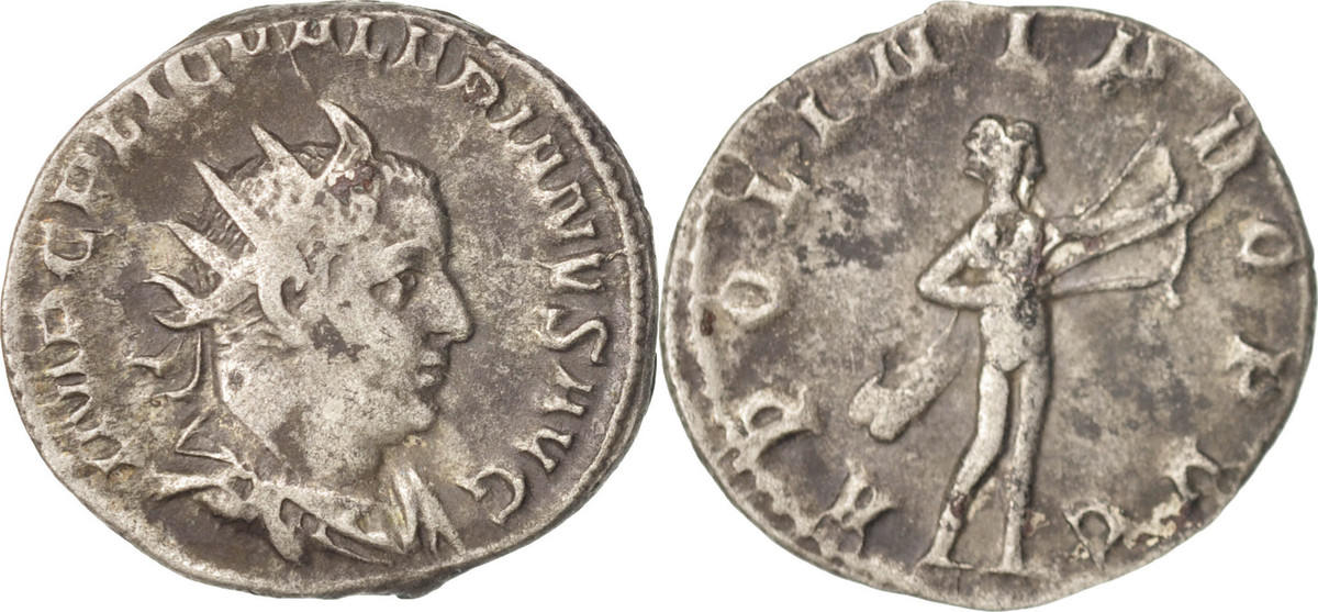 Antoninianus Roma Valerian I, Roma, SS, Billon, RIC:74 SS