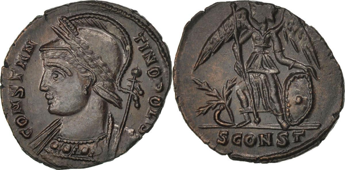 Nummus Arles  MS(60-62)