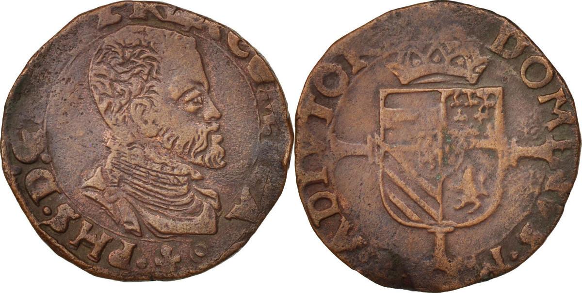 Liard 1555-1598 Bruges Belgien Philip II, Bruges SS