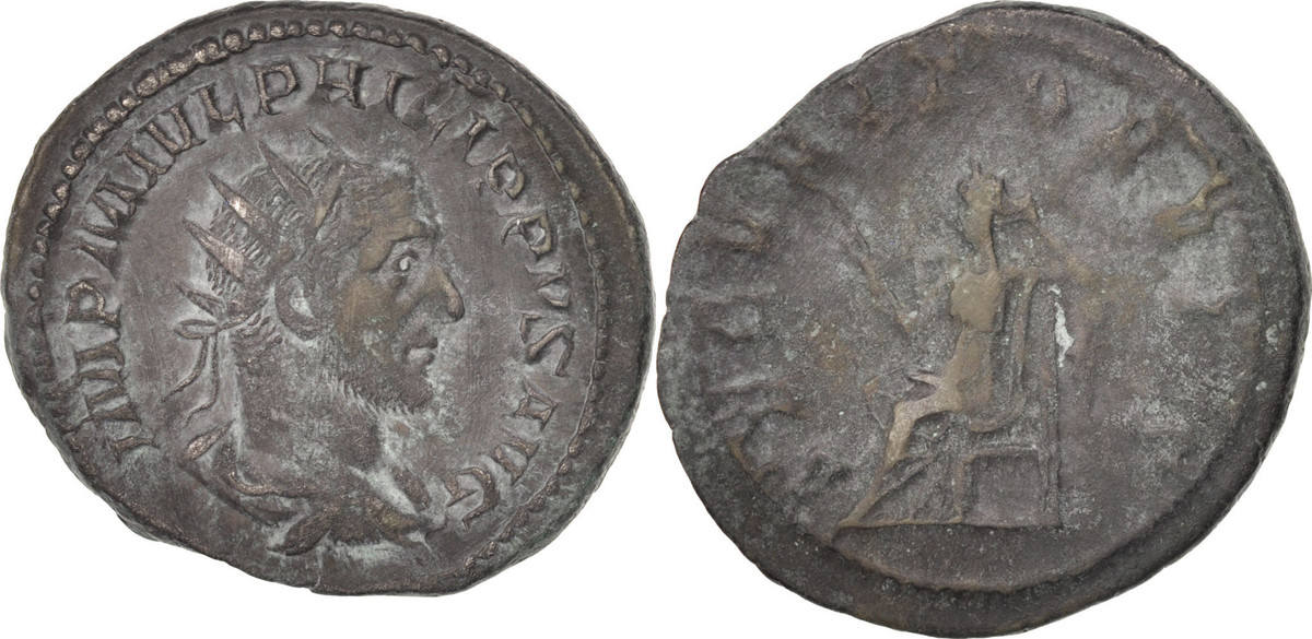 Antoninianus Rome Philip I EF(40-45)