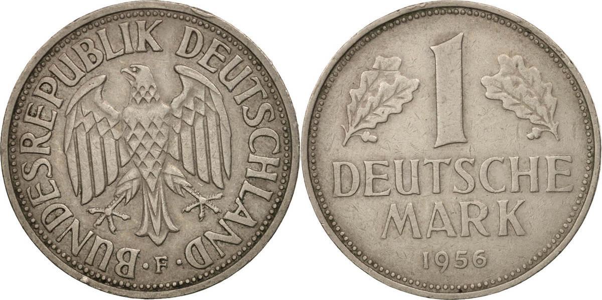 Mark 1956 F Bundesrepublik Deutschland AU(50-53)