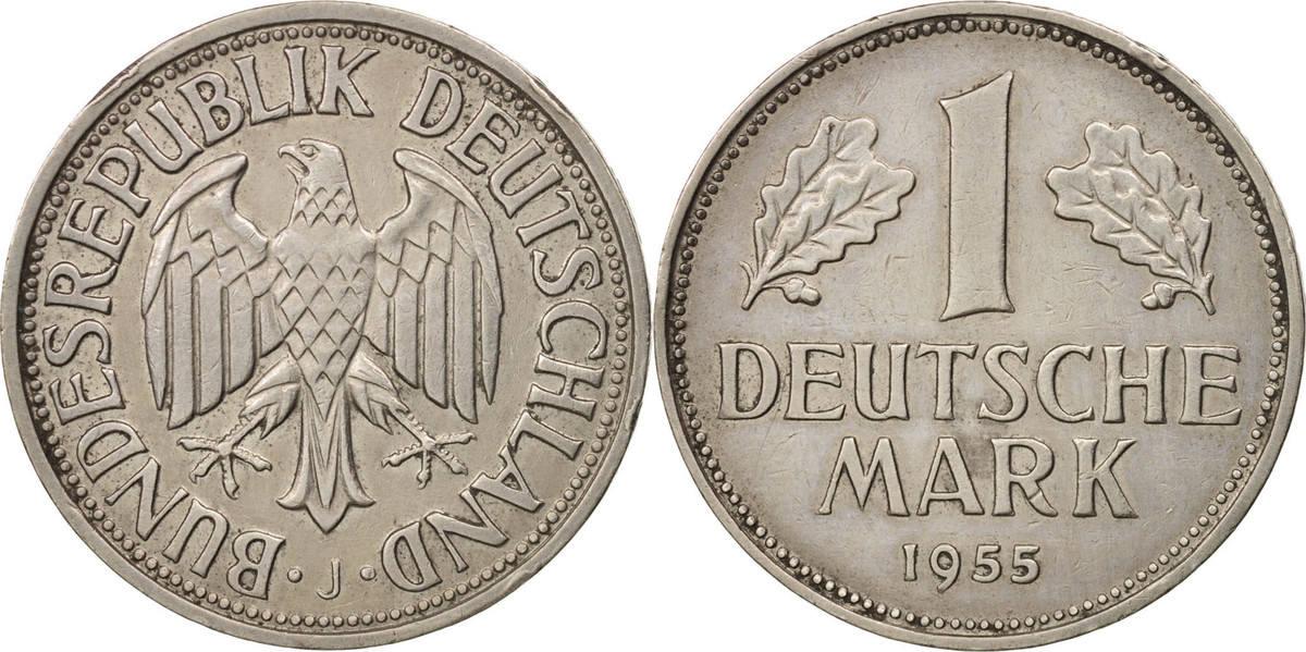 Mark 1955 J Bundesrepublik Deutschland AU(55-58)