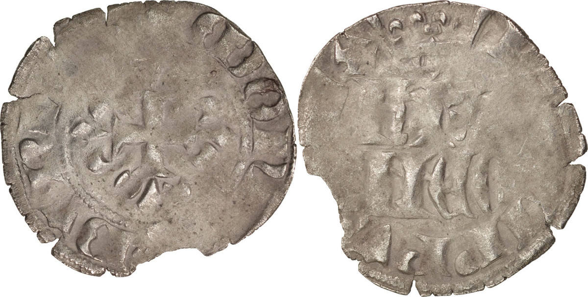 Double Parisis Not Applic Frankreich 1328-1350 Philippe VI VF(30-35)
