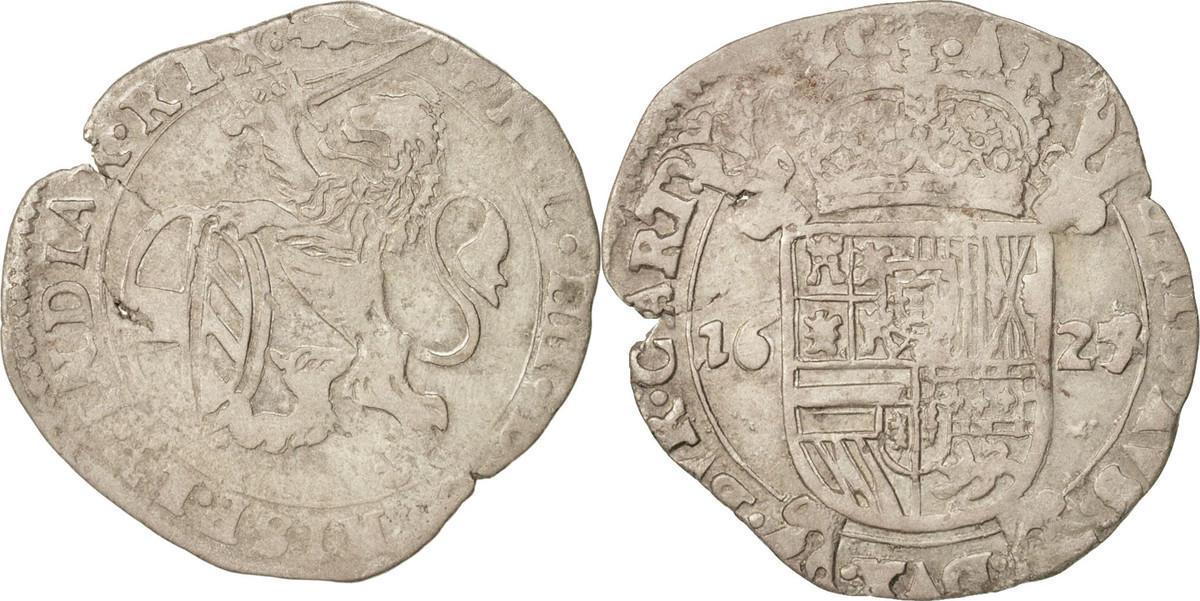 Escalin 1624 Arras Spanische Niederlande ARTOIS, 1624/3, Arras, SS, Silber, GH:333-7 SS