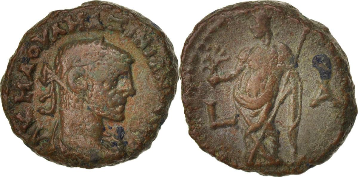 Tetradrachm Alexandria Maximianus, Year 1, Alexandria, SS, Billon, Milne:4778 SS