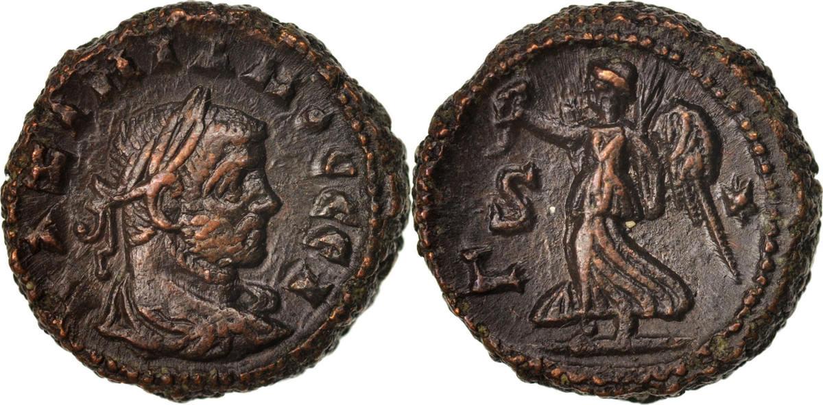 Tetradrachm Alexandria Maximianus, Year 6, Alexandria, VZ, Billon, Milne:4988 VZ