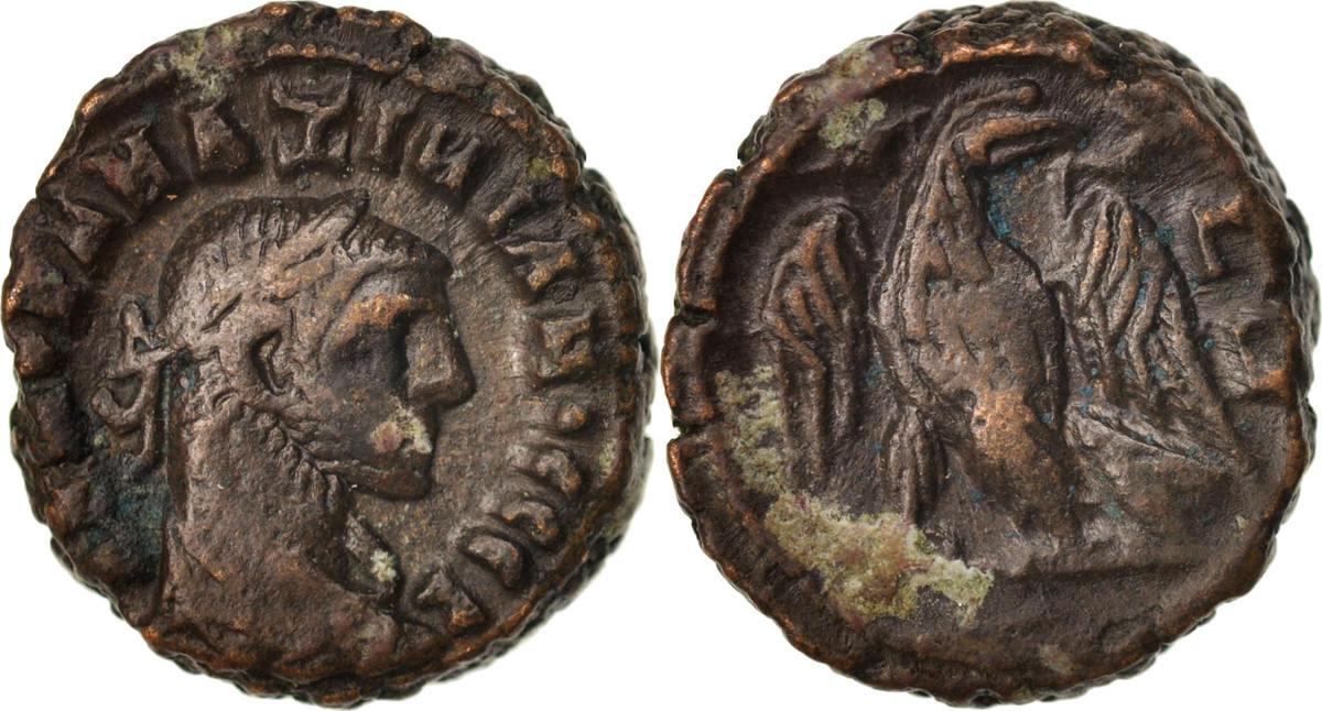 Tetradrachm Alexandria Maximianus, Year 3, Alexandria, SS, Billon, Milne:4889 SS