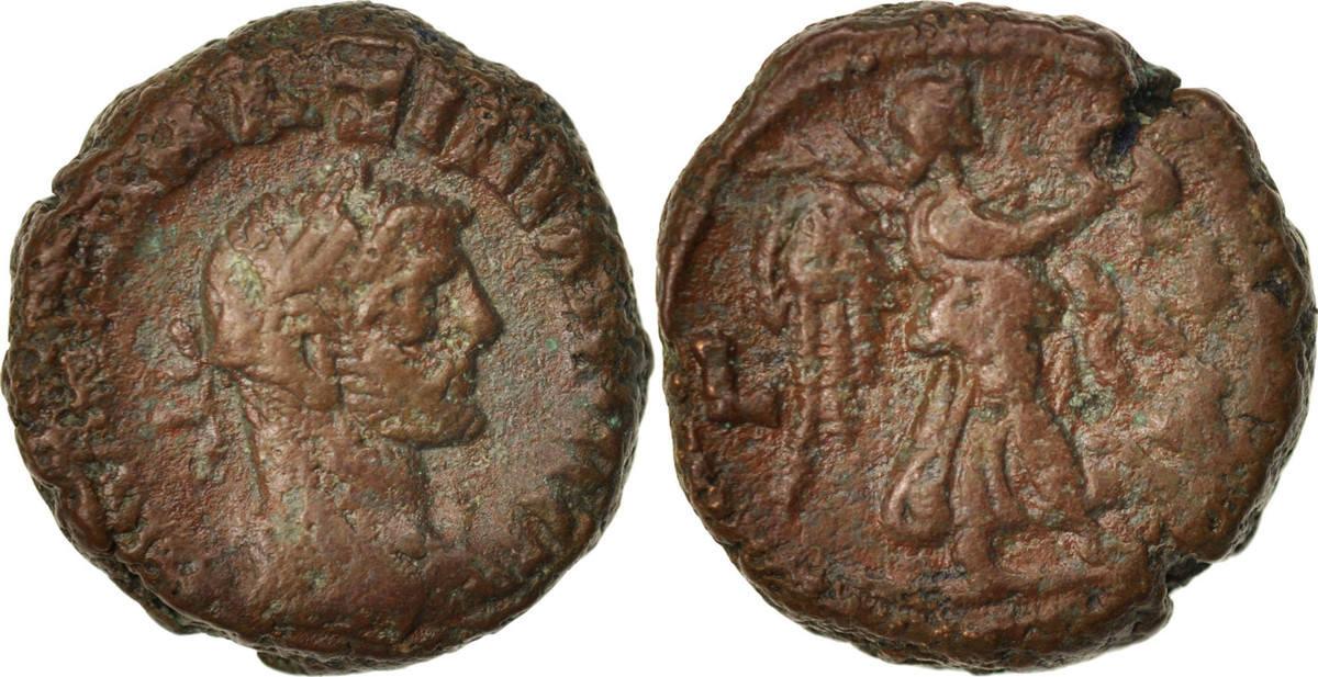 Tetradrachm Alexandria Maximianus, Year 4, Alexandria, S+, Billon, Milne:4911 S+