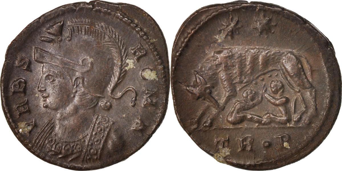 Follis Trier City Commemoratives, Trier, VZ+, Bronze, RIC:542 VZ+