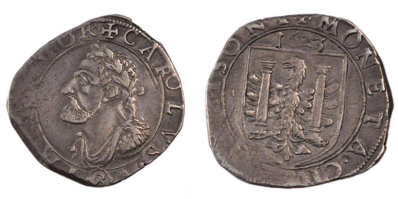 Teston 1623 Besançon Frankreich EF(40-45)