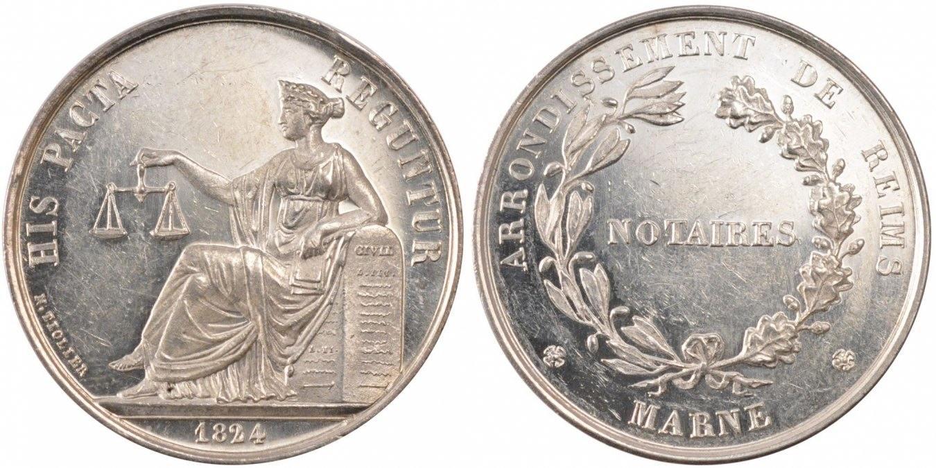 Token 1824 Frankreich MS(60-62)