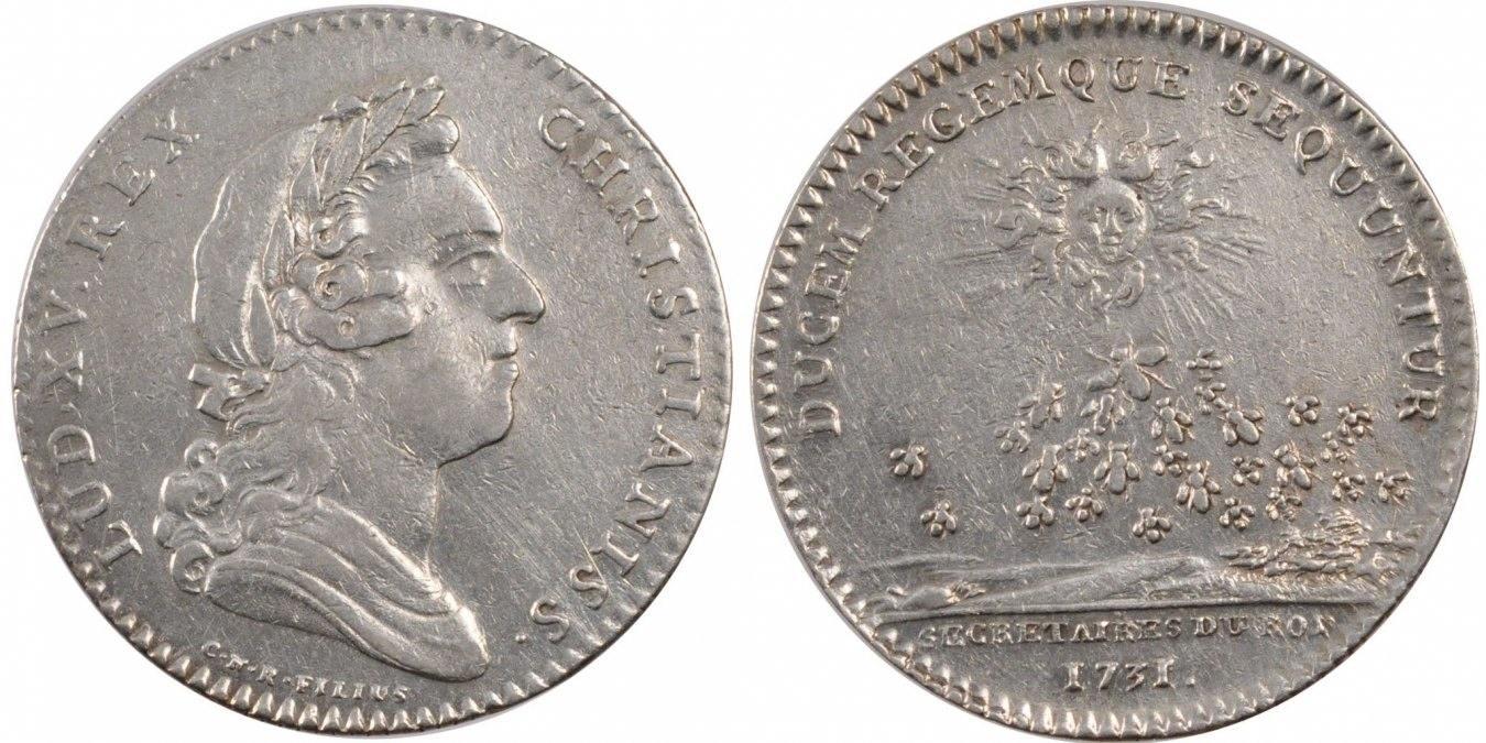 Token 1731 Frankreich EF(40-45)