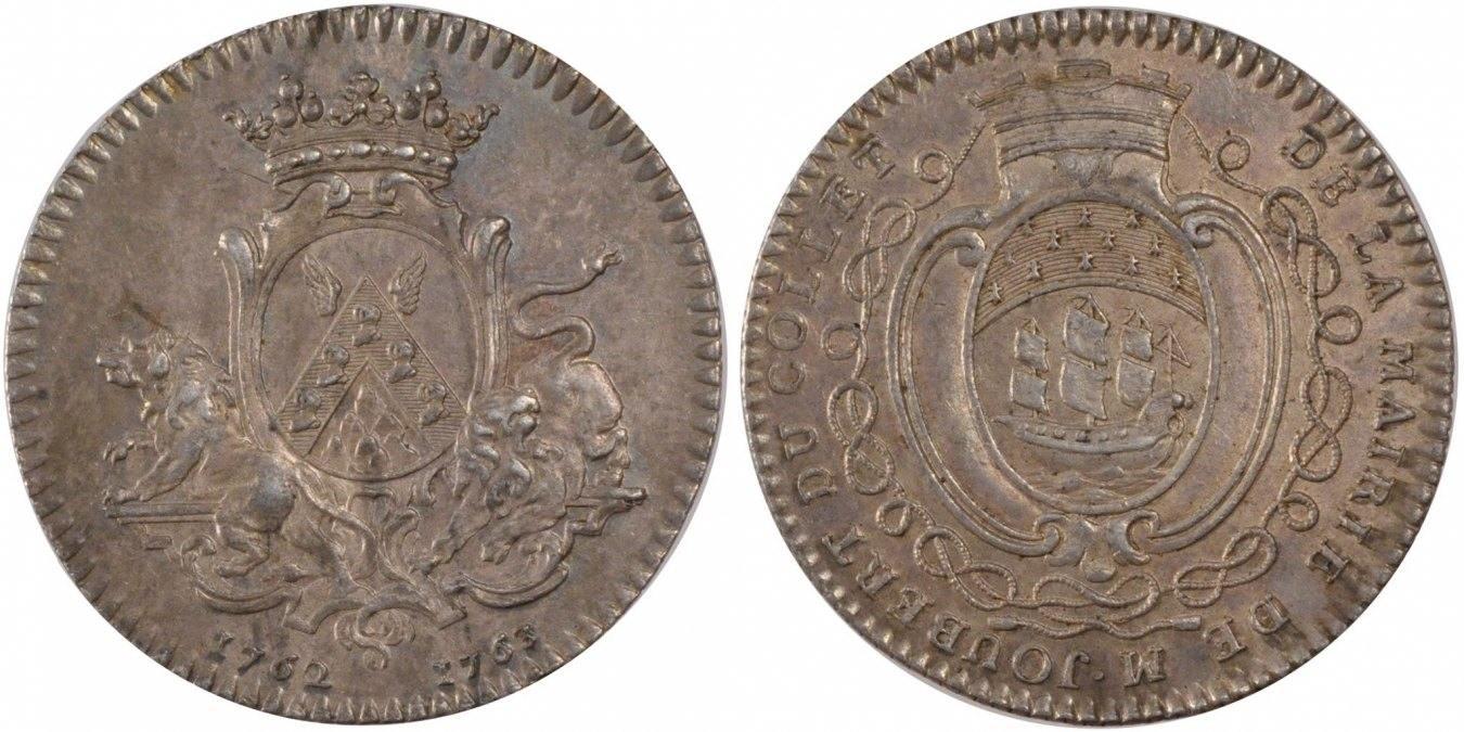 Token 1762 Frankreich AU(55-58)