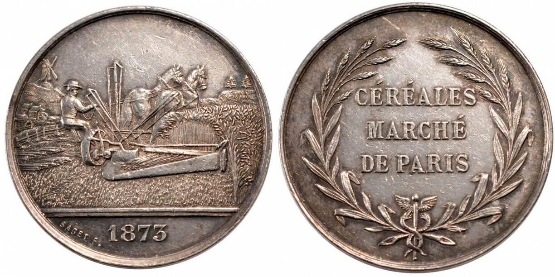 Token 1873 Frankreich AU(55-58)