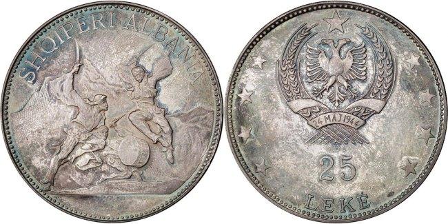 25 Lekë 1970 Albania MS(63)