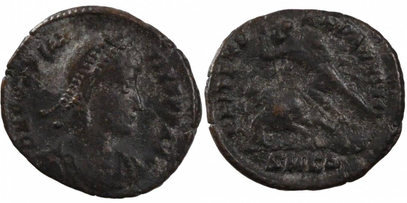 Nummus Kyzikos Constantius II VF(30-35)