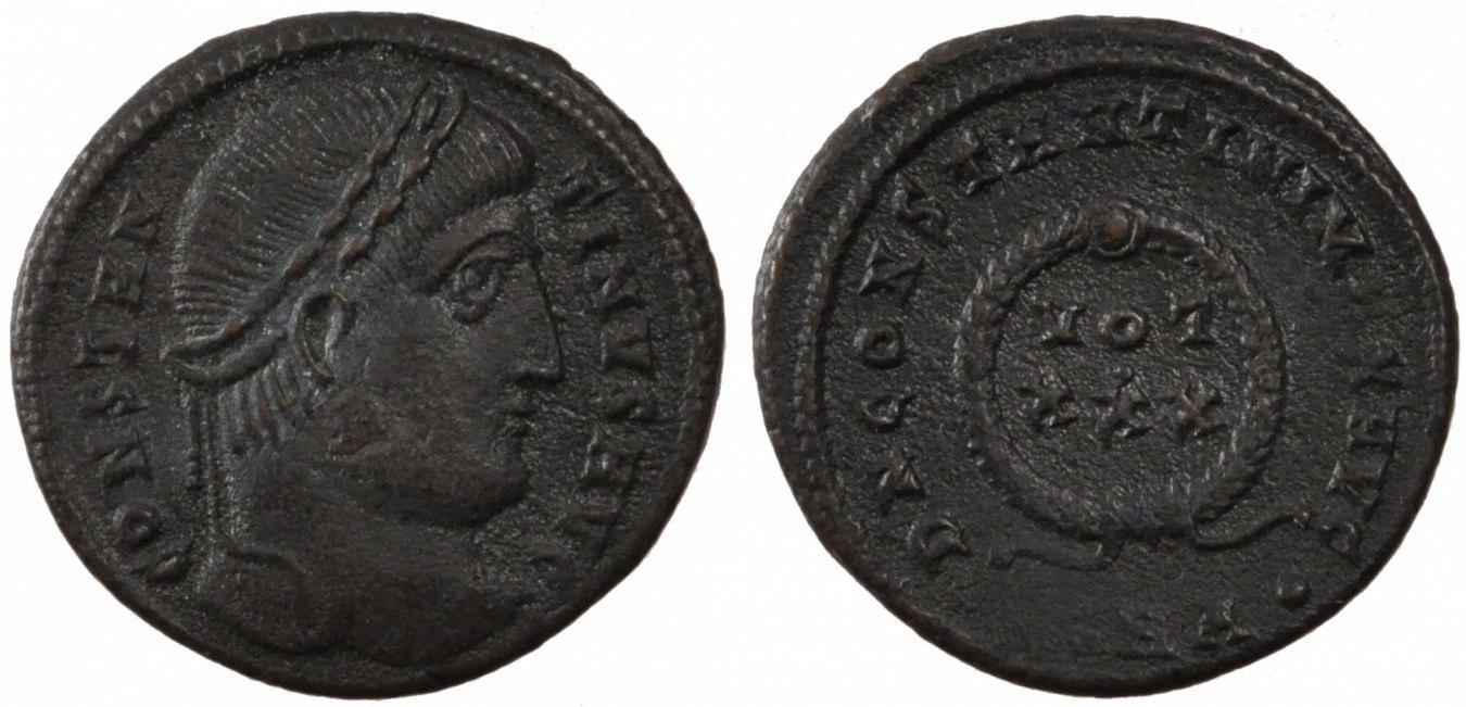 Nummus Heraclea Constantine I, Heraclea, Copper, Cohen #129, 3.10 VZ