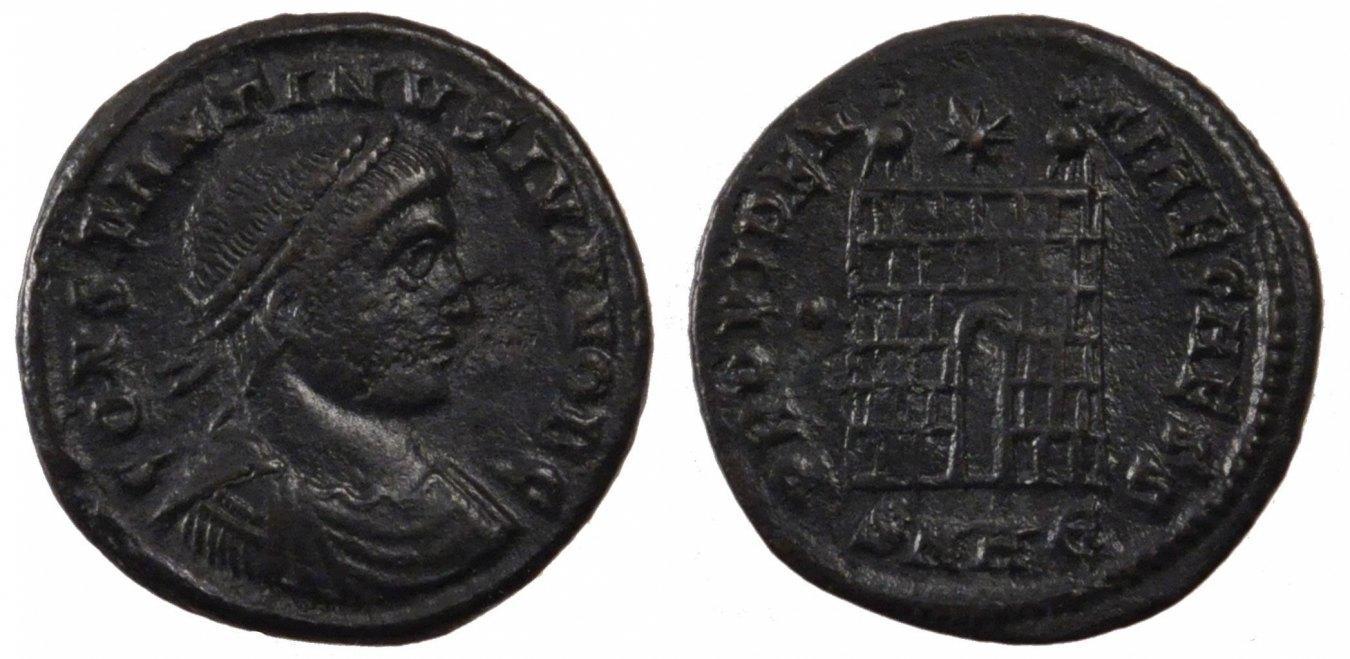 Nummus Heraclea Constantine II, Heraclea, Copper, Cohen #164, 2.70 SS+