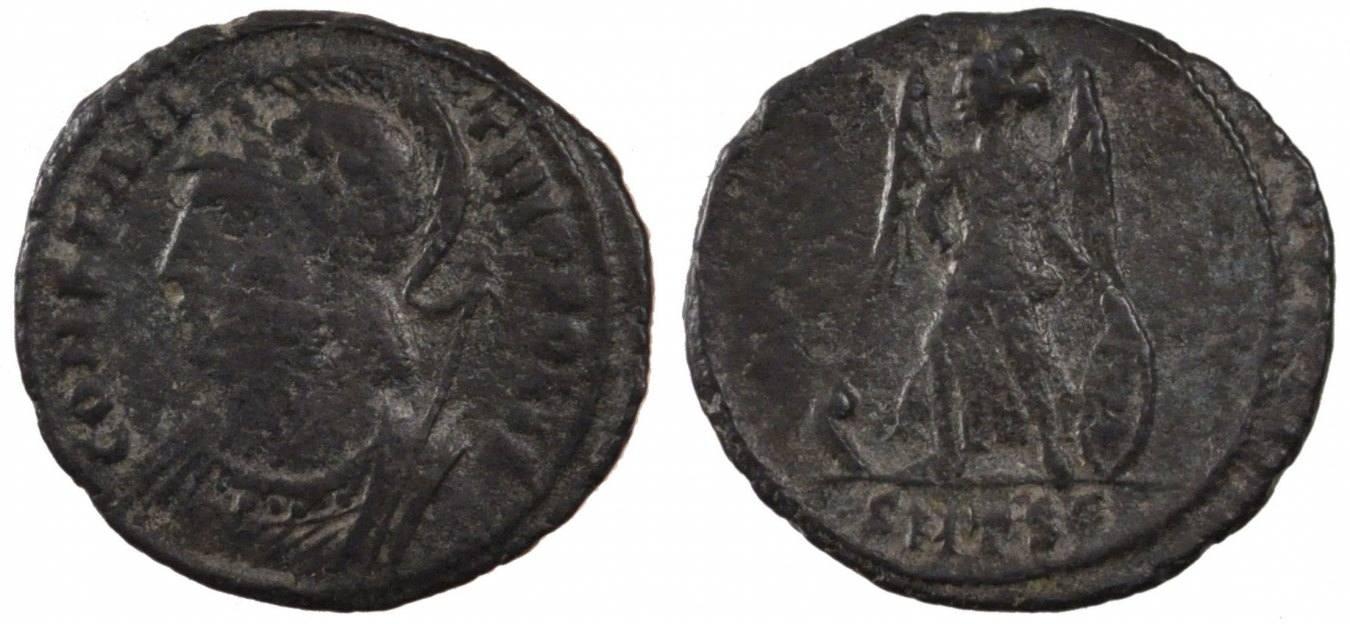 Nummus Thessalonica Thessalonica, Copper, Cohen #22, 2.40 SS