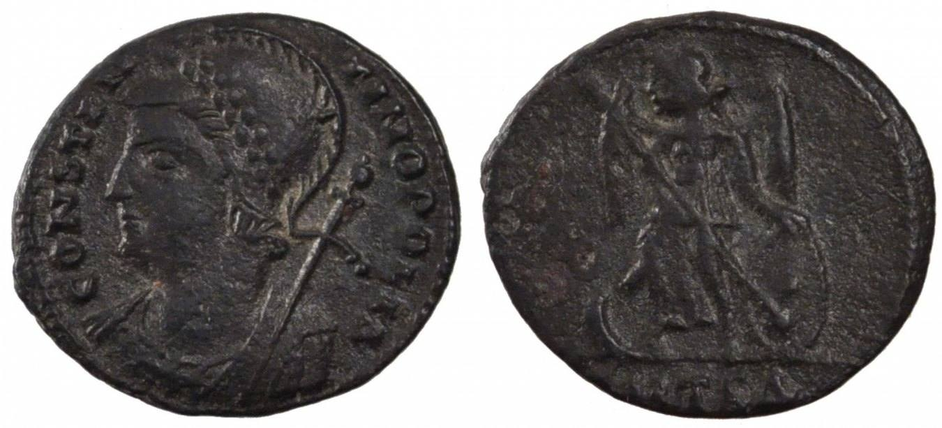 Nummus Thessalonica Thessalonica, Copper, Cohen #22, 2.10 SS+