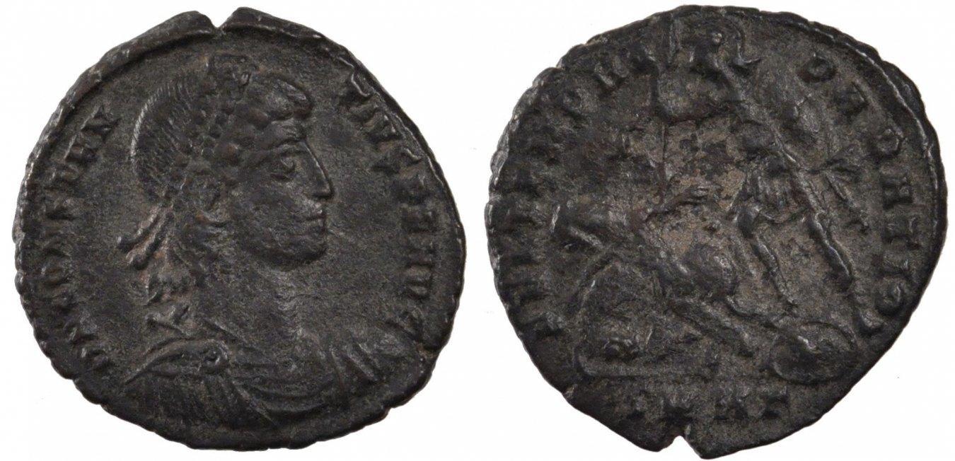 Maiorina Nicomedia Constantius II, Nicomedia, Copper, Cohen #46, 5.10 SS