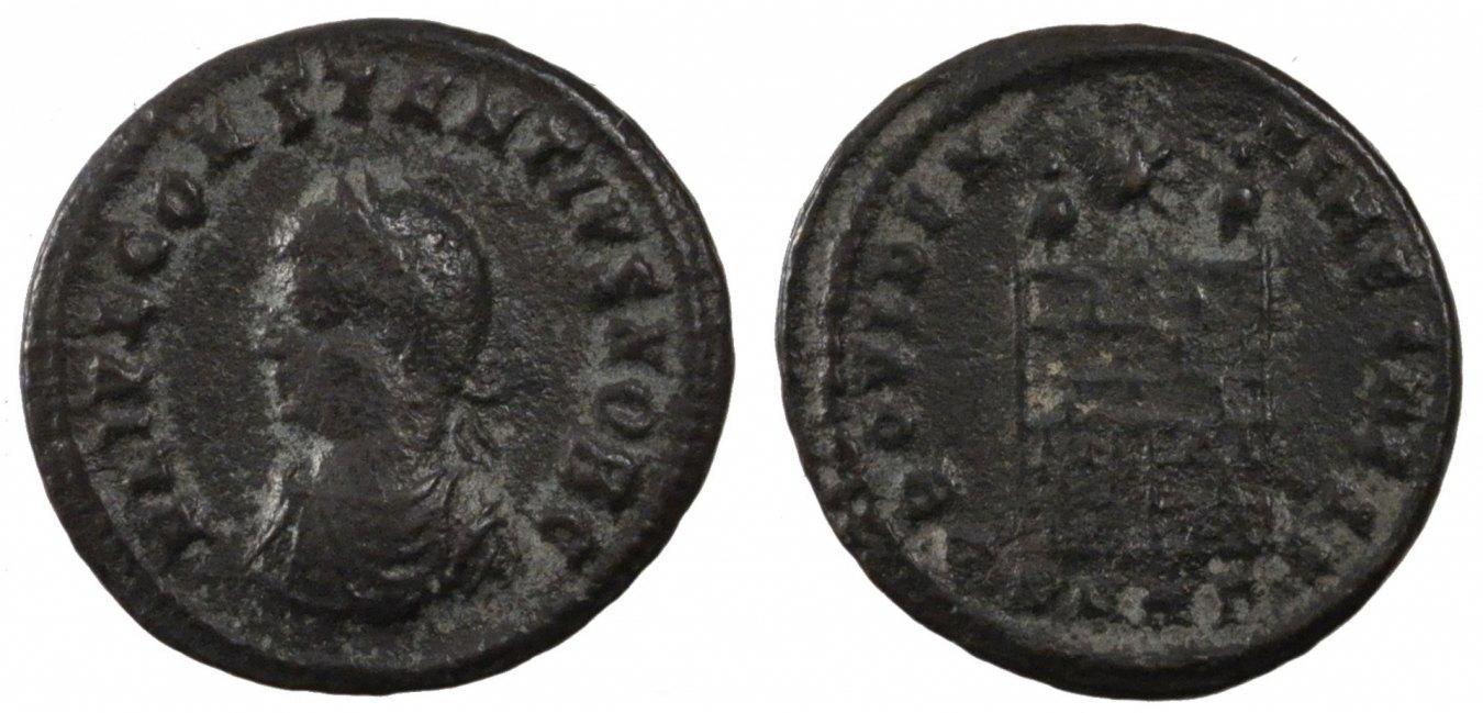 Nummus  Constantius II, Copper, Cohen #167, 2.80 SS