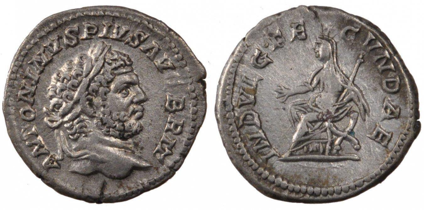 Denarius  Caracalla, Silver, Cohen #104, 3.20 VZ
