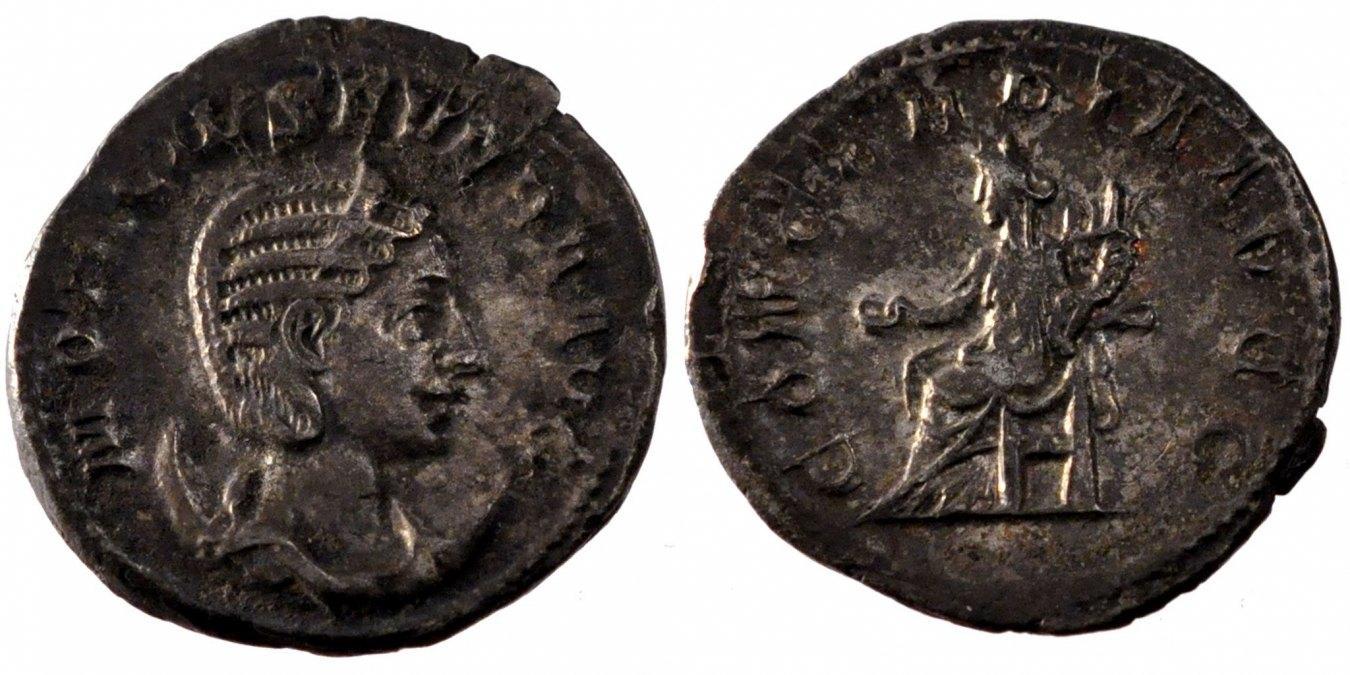 Antoninianus  Otacilia Severa EF(40-45)