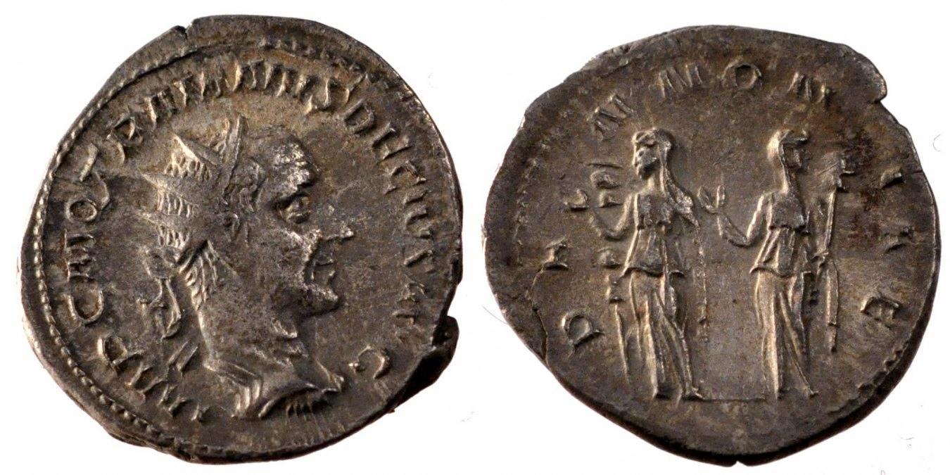 Antoninianus  Trajan Decius AU(50-53)