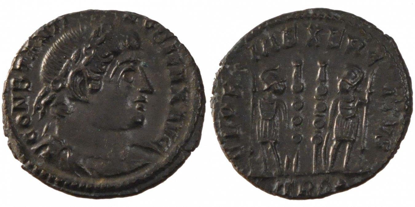 Nummus Trier Constantine I AU(50-53)