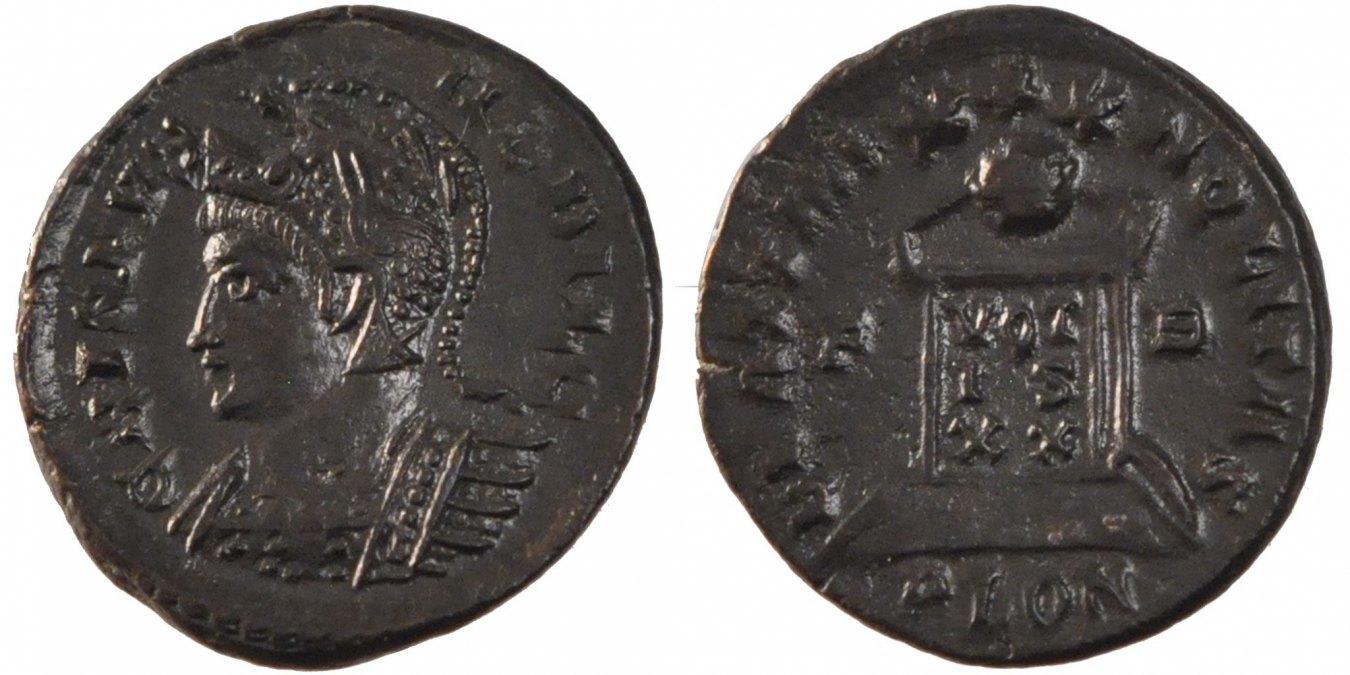 Nummus London Crispus AU(50-53)