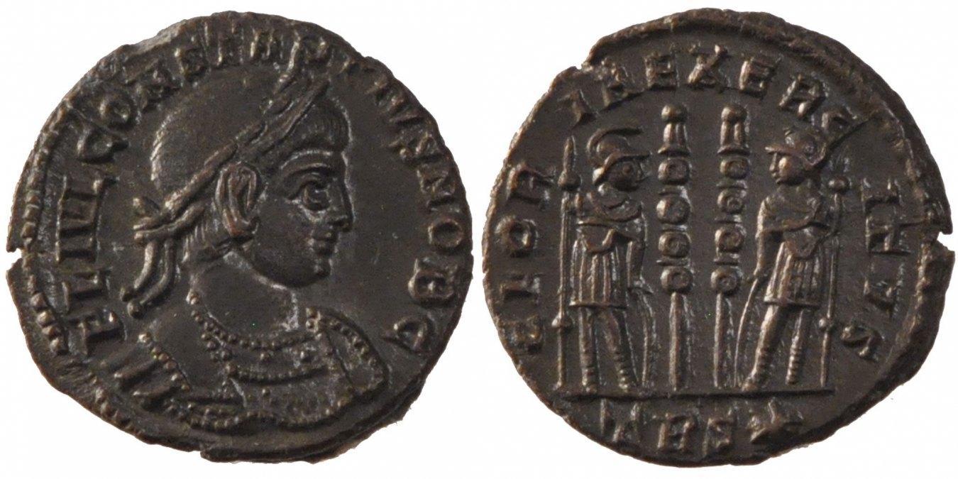 Nummus Trier Constantius II AU(55-58)