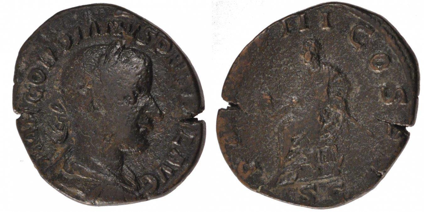 Sestertius  Gordian III EF(40-45)